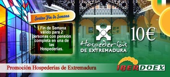 Promoción Hospederías de Extremadura e Iberdoex