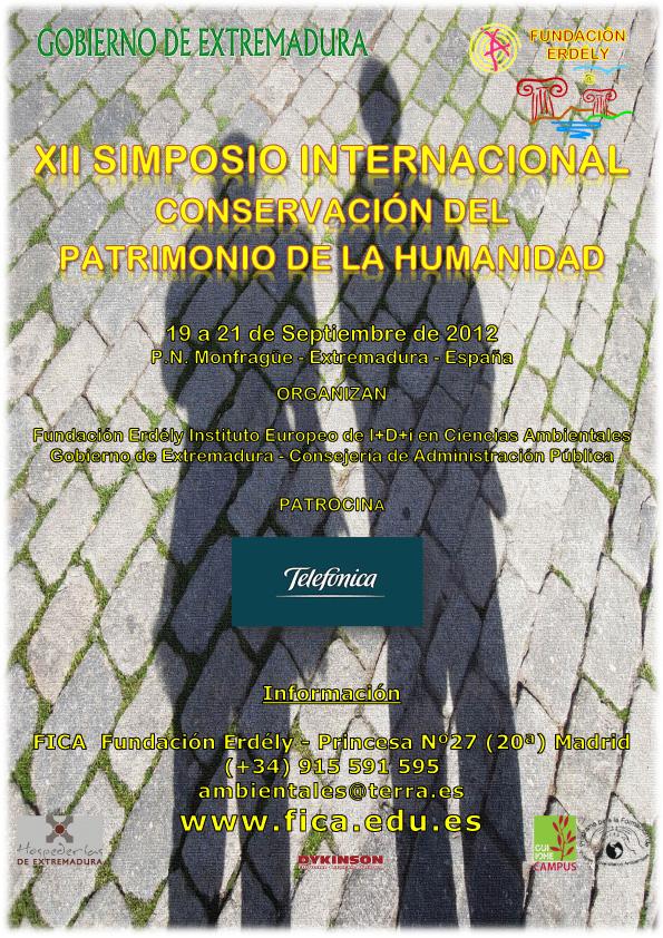 XII Simposio de Conservación del Patrimonio de la Humanidad - Hospedería Parque de Monfragüe (Extremadura)
