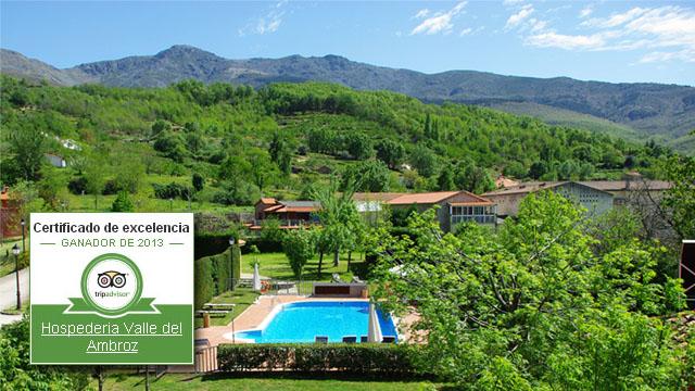 Mejores hoteles - Hospedería Valle del Ambroz en Hervás