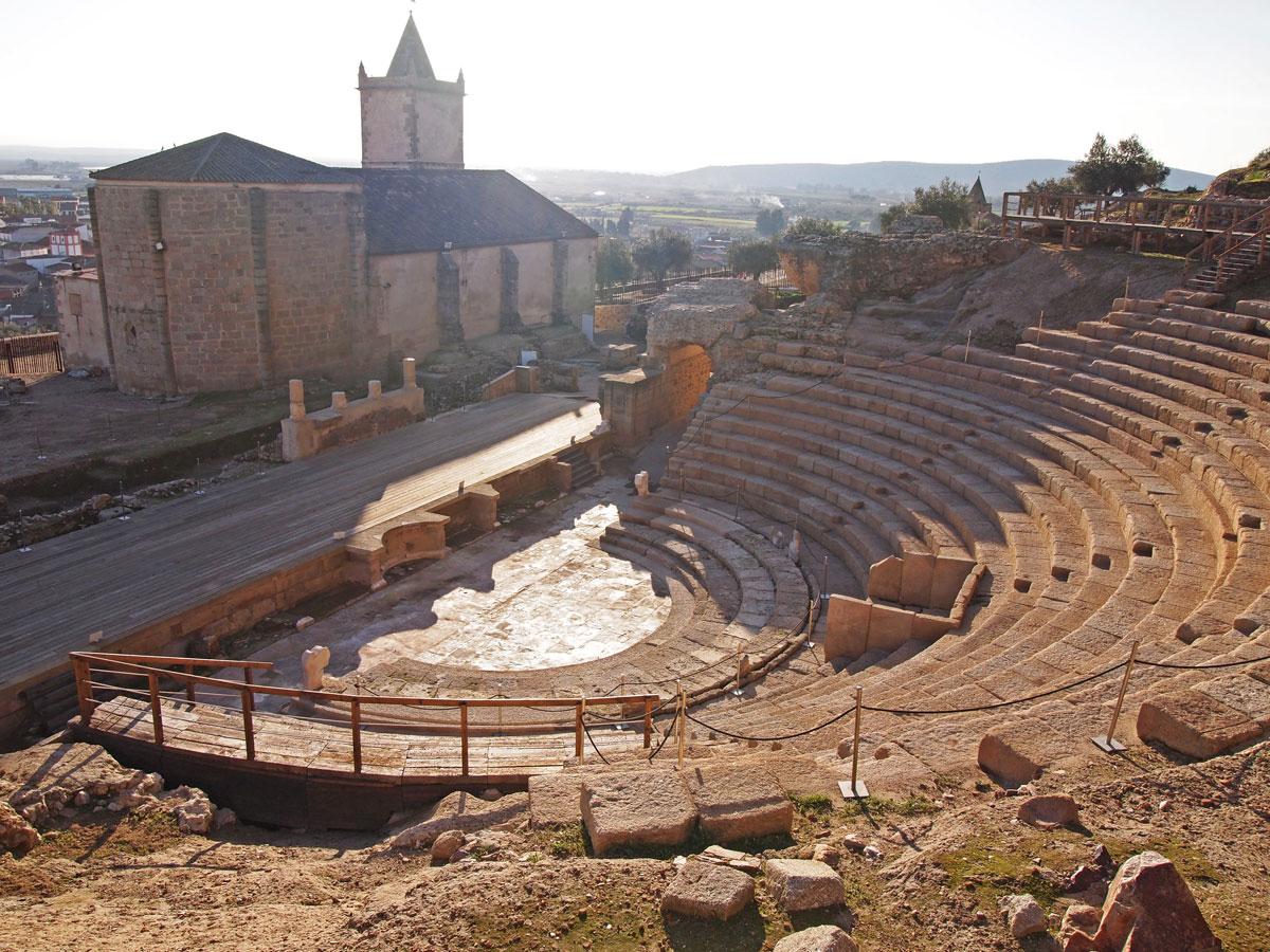Teatros romanos de Extremadura