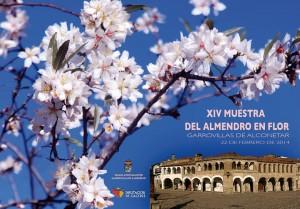 Cartel Muestra del Almendro en Flor 2014 en Garrovillas de Alconétar