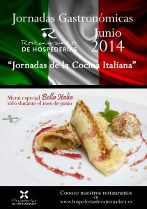 Jornadas Gastronómicas Junio: Cocina Italiana
