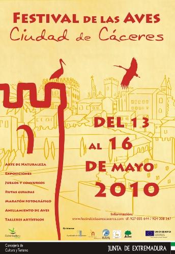 Festival de las Aves Cáceres 2010