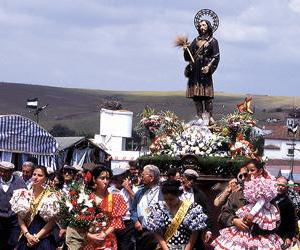 San Isidro en Fuente de Cantos