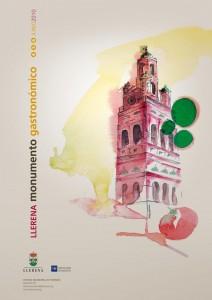 Cartel Llerena Monumento Gastronómico 2010