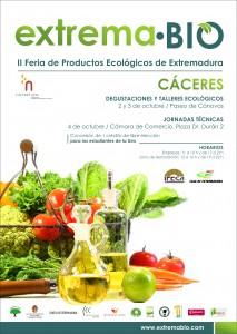 Cartel Feria Productos Ecológicos Extrema·BIO