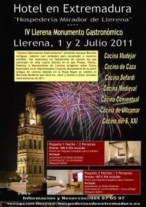 LLerena, Monumento Gastronomico 2011