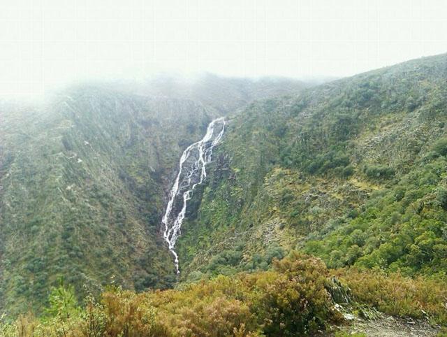 Cascada de Los Ángeles en Ovejuela, Las Hurdes