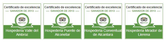 Mejores hoteles - Hospederías de Extremadura