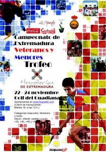"""Campeonato de Pádel """"Hospederías de Extremadura"""""""