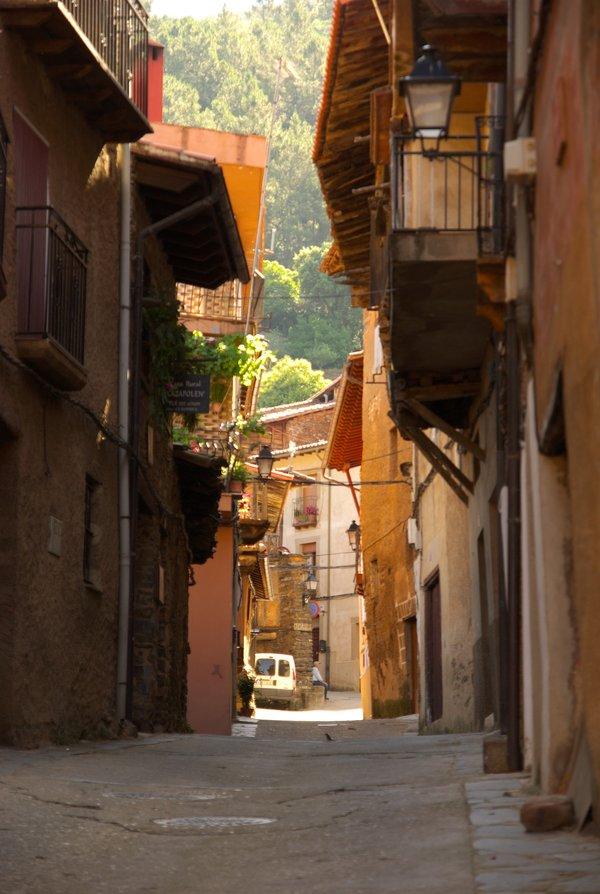 Calles de Robledillo de Gata